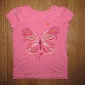 Фирменная футболка TU девочке 5 лет