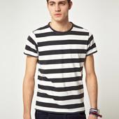 Мужская футболка Zara, оригинал, размер S