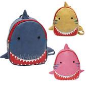 Акула синяя. Детский рюкзак.