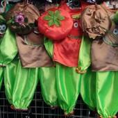 Детские карнавальные костюмы Овощей ,возраст 2-6 лет