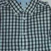 Мужская рубашка в клетку от ТСМ (германия ), ворот 41/42 , размер м/л