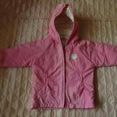 Деми куртка тонкая на 12-18 мес. (80-86см)