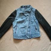 Самая модная джинсовая куртка косуха G21