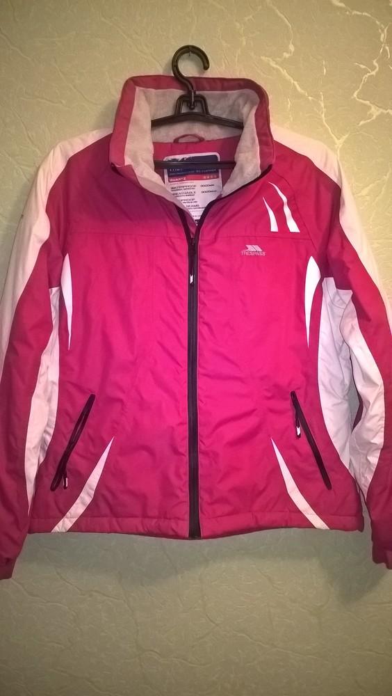 Лыжная, мембранная куртка trespass tres-tex , супер вещь. фото №1