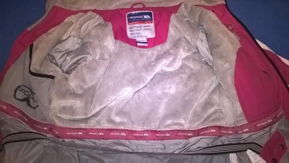 Лыжная, мембранная куртка trespass tres-tex , супер вещь. фото №8
