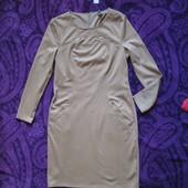Брэндовое модное платье Spanner  красивый беж!