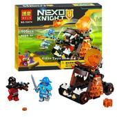 "Конструктор Bela 10474 Nexo Knights ""Безумная катапульта"", 105 деталей"