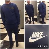 Мужской спортивный костюм копия Nike, зимний