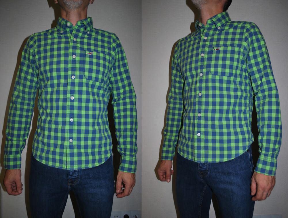 Рубашка размер хс hollister оригинал фото №1