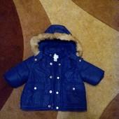 Курточка - пуховик Childrens Place для мальчика от 0-3 месяцев  - зима фирмы place