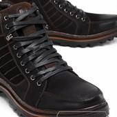 Модель № :W3375 Ботинки мужские на искусственном меху