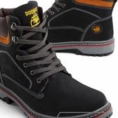 Модель № :W3384 Ботинки мужские на искусственном меху