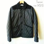 стеганная куртка от Topman  size XS (смело пойдет на С)