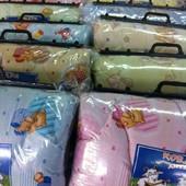 Детское шерстяное одеяло Голд хлопок 110*140 см