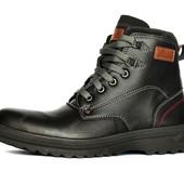 Зимние удобные теплые ботинки для мужчин (ПР-2200ч)