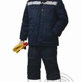 Рабочий зимний костюм р. 182