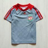 Спортивная оригинальная футболка для мальчика. Adidas (оригинал). Размер 9-12 месяцев