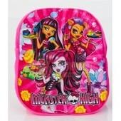 Рюкзак 3D Монстер Хай (Monster High), розовый