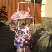 Велосипед коляска трансформер, очен устойчивый