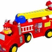 Распродажа - Пожарная машина ( cвет, звук) от Kiddieland
