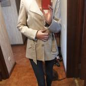 Тренч-куртка-плащ бежевый женский от Vila Clothes M