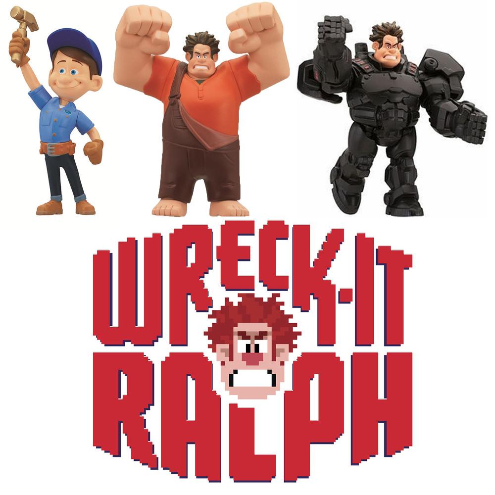 Фигурки героев мультфильма ральф - wreck-it ralph студии disney от thinkway сша фото №1