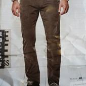 Качественные мужские вельветки , размер 56 , германия ,цвет - коричневый
