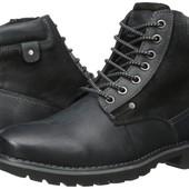Мужские ботинки евро зима Steve Madden,новые,кожа