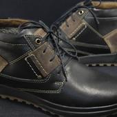 Мужские ботинки Maxus зима,натуральная кожа,шерсть 40,41,42,43,44,45