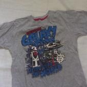 футболка для мальчика 6-7 лет