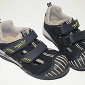 Замшевые босоножки туфли размер 26 по стельке 17 см
