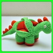 Динозавр-пазл 3Д - конструктор