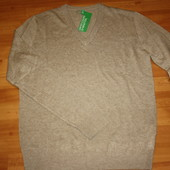 Мужской пуловер Benetton размер М