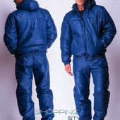Мужской зимний спортивный костюм на синтепоне 2 цвета
