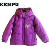 Пуховик с капюшоном фиолетовый на 3 года, Kenpo Америка