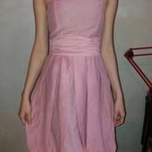 платье с поясом Zara Basic, р.XS
