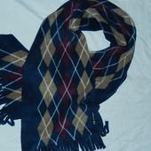 Новый флисовый шарф,теплый,сток