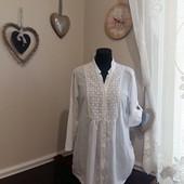 Стильная рубашка с шитьем Италия