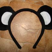 обруч ушки мишки состояние отличное ван сайз  диаматр 12,5 подойдет от года и на взрослого