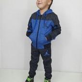 Теплый спортивный костюм для мальчика и девочки 104 - 160 см