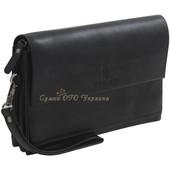 Новый черный мужской клатч. Мужское портмоне. Барсетка. Мужская сумка. Чоловічий клатч. Кошелек