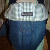 Джинсовый рюкзак-переноска BabyBjörn