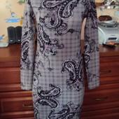 Oodji новое платье-миди с длинным рукавом