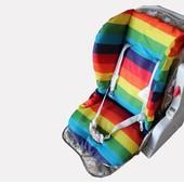 матрасик в коляску или стульчик