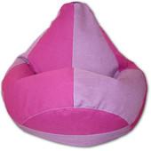 Кресло-груша-мешок 120х90, Ткань микро-рогожка, Расцветки разные
