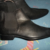 Ботинки полу сапоги кожаные 42 размер(8)