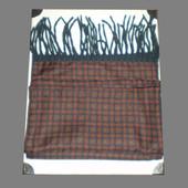 Красивый мужской шарф: шелк/кашемир