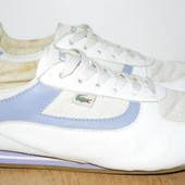 Lacoste кроссовки кожа 24.5 см