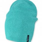 Однотонная теплая зимняя шапка,расцветки, 52-56 см