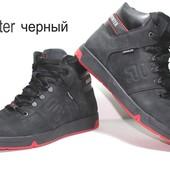 Ботинки зимние Winter чёрные.